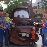 Picture with Mater